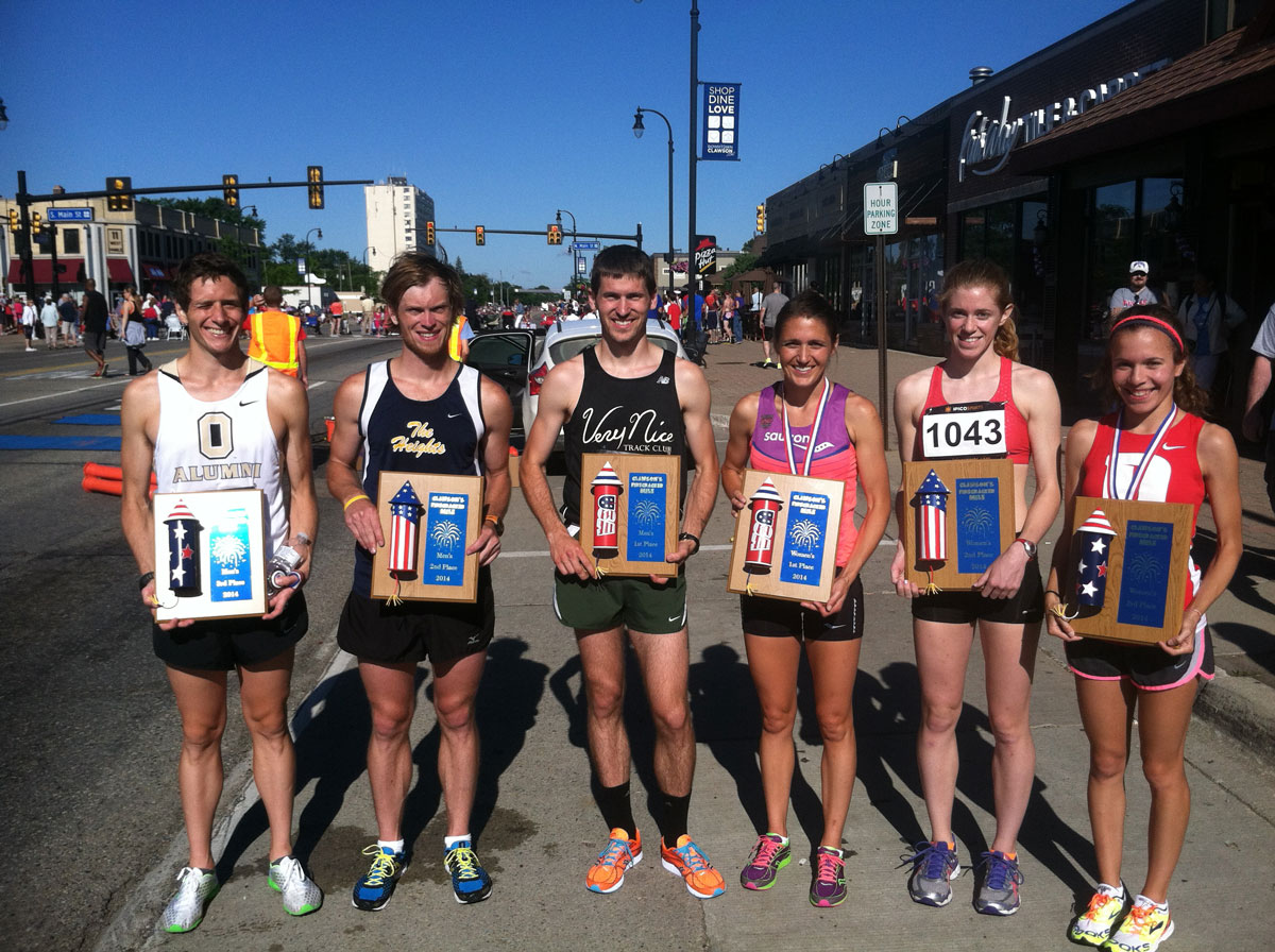 2014 Firecracker Mile Winners